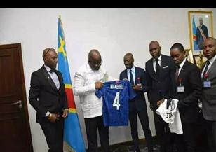 Claude Makelele a effectivement rencontré Félix Tshisekedi.