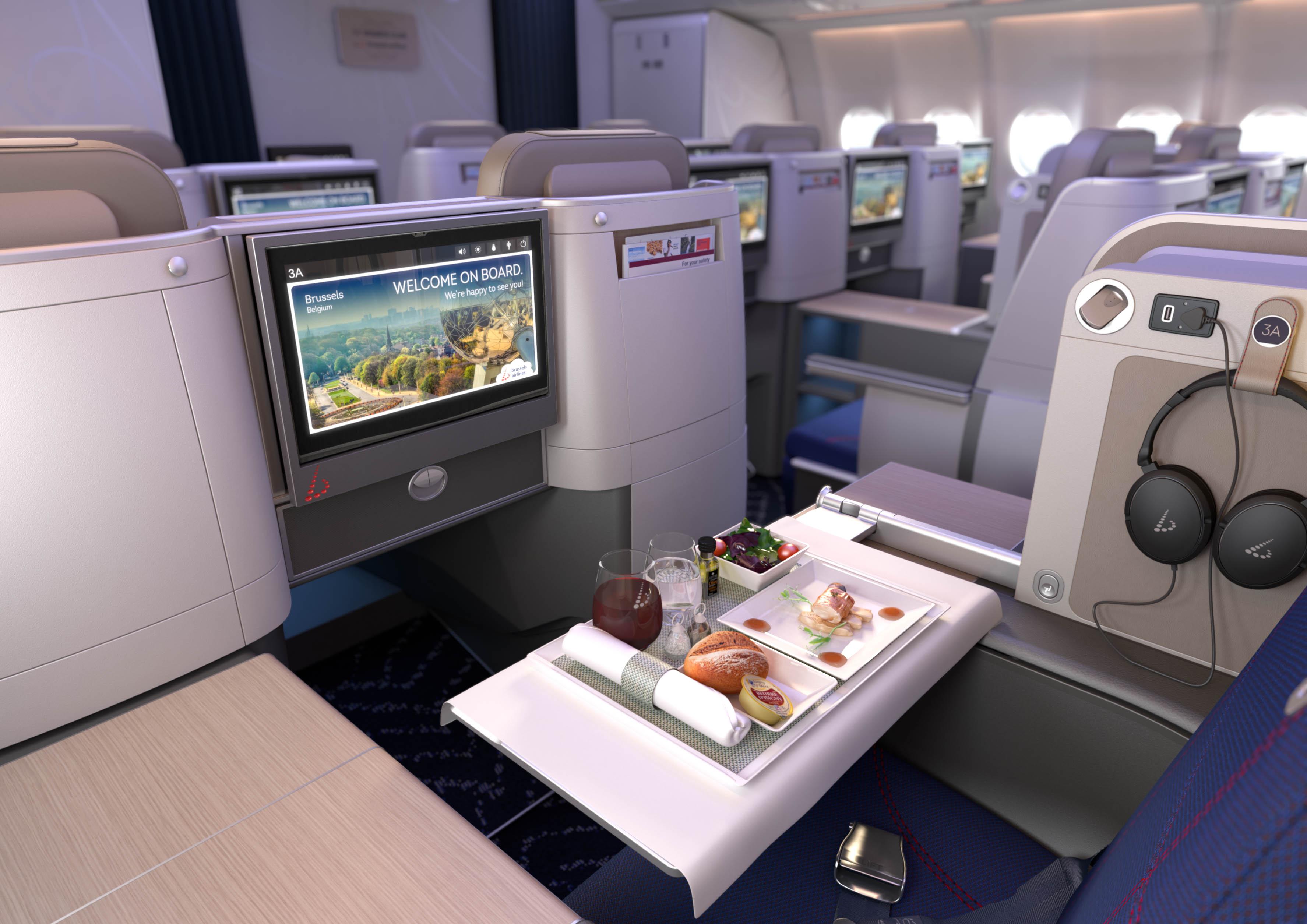 Brussels Airlines investit dans le confort et le design