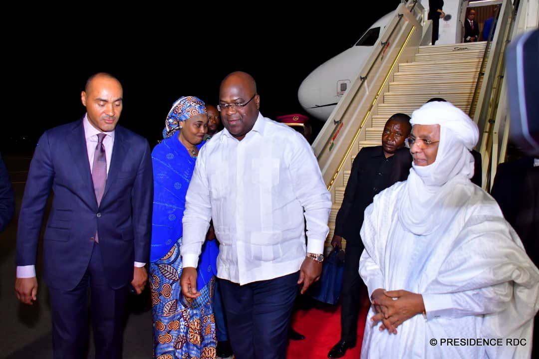 RDC : Félix Tshisekedi se rend au Ghana