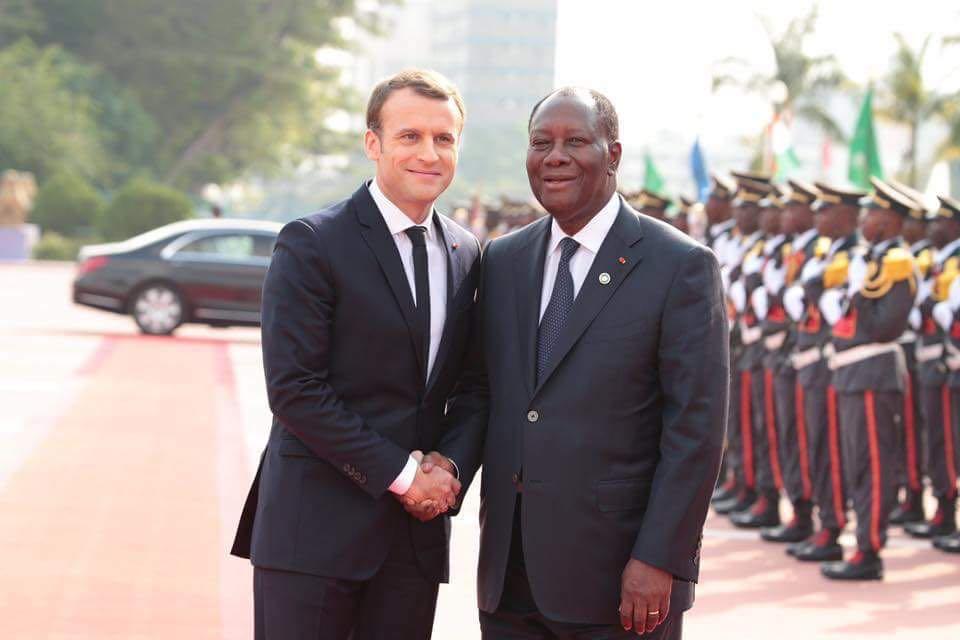 France-Côte d'Ivoire : Emmanuel Macron à Abidjan