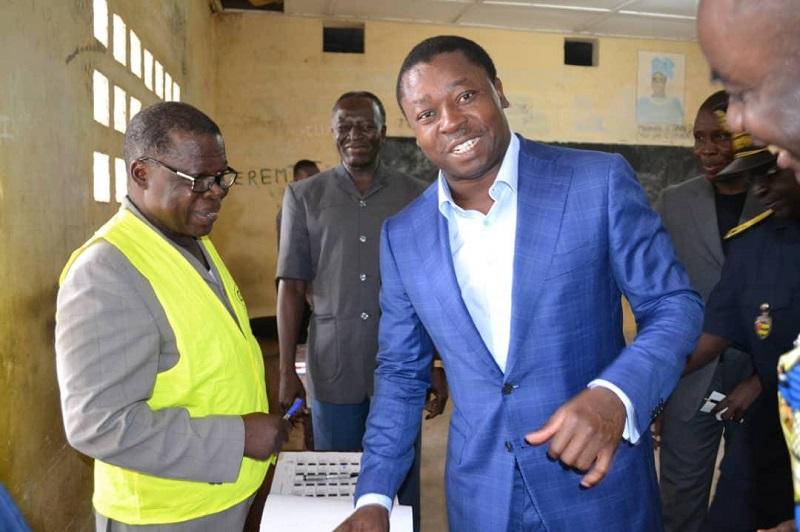 Togo : Vers une victoire de Faure Gnassingbé dès le 1er tour