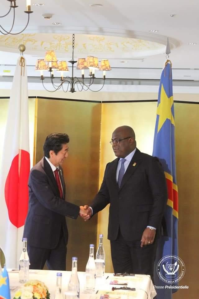Coronavirus  : Félix Tshisekedi reporte son voyage au Japon