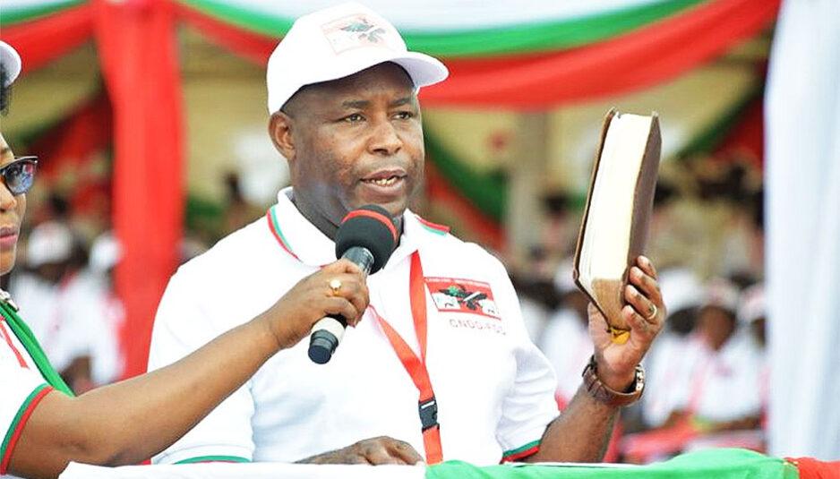Burundi : Le nouveau chef de l'Etat investi
