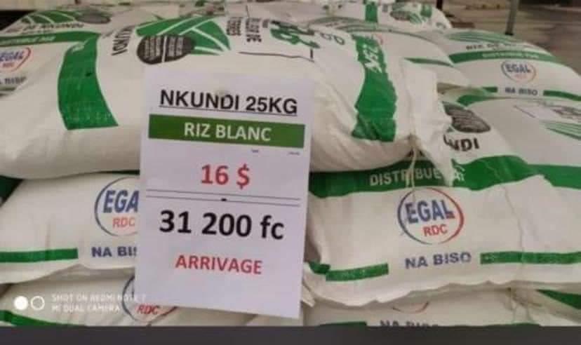 Riziculture : la RDC renoue avec une production rizicole de qualité