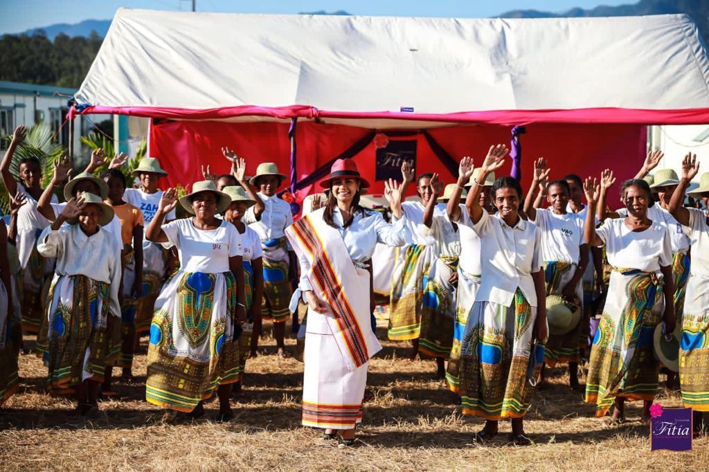 Madagascar : Mialy Rajoelina à la rescousse des femmes et des malnutris