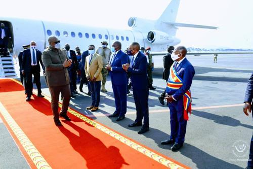 RDC : Félix Tshisekedi de retour à l'est